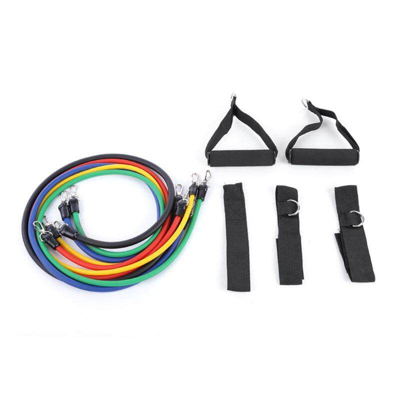 Bảng giá 11Pcs/Set Latex Tubing Expanders Exercise Tubes Strength Resistance Bands Pull Rope Pilates Crossfit Fitness Equipment