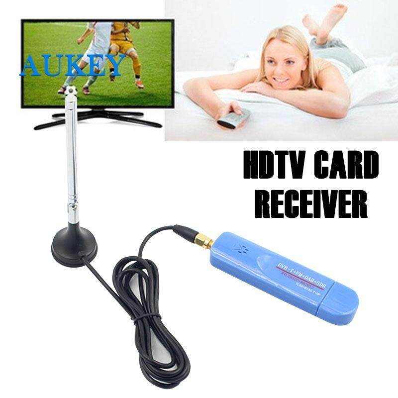 Satellite TV Receiver DVB-T Receiver SDR Receiver Durable RTL2832U USB2.0 ABS Antenna Home Audio Digital Crystal Video TV Tv Cards Receiver