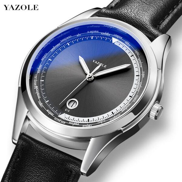 Yazole Brand Watch Sports Men Watches Quartz Wristwatch For Male Jam Tangan Lelaki YZL516 Malaysia
