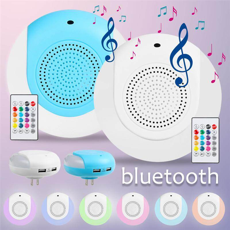 Wireless Bluetooth LED Light Speaker Bulb RGB E27 10W Music Playing Lamp + Remote Control