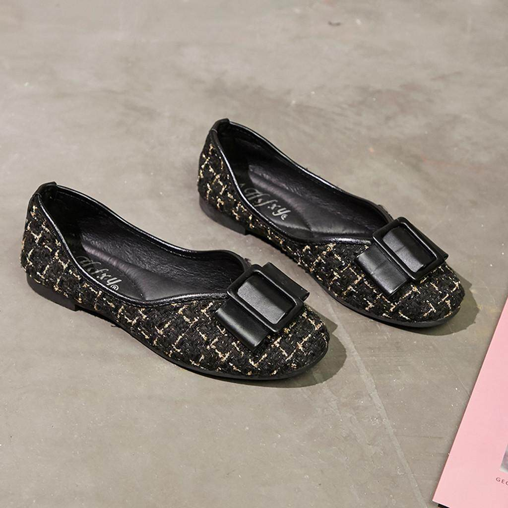 Fashion Women Ladies Slip On Flat  Sandals Casual Shoes Solid Loafer Colorful