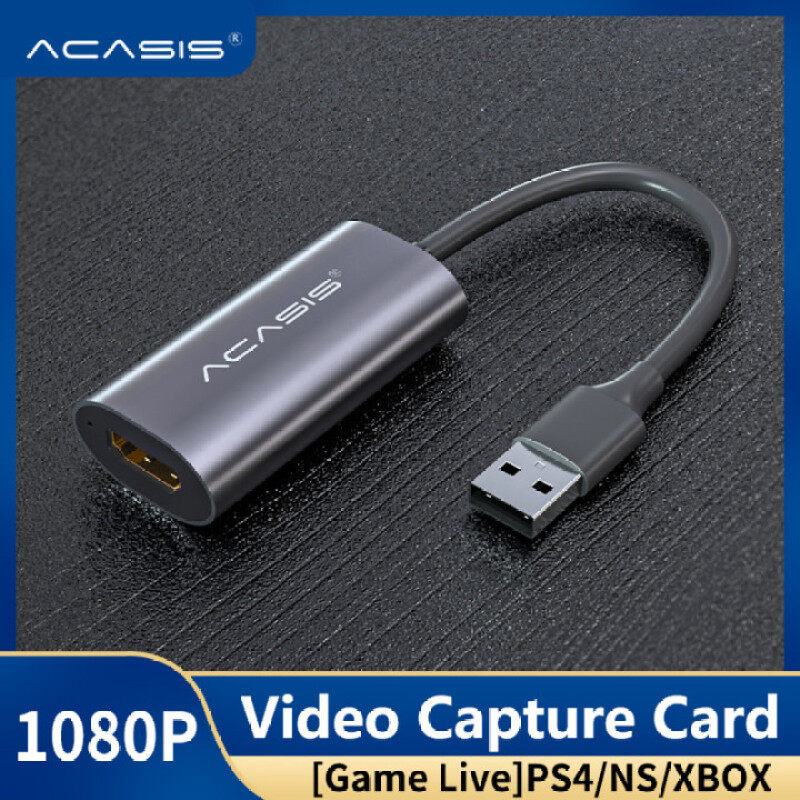 Bảng giá ACASIS thẻ quay video mini USB 2.0 HDMI cho PS4 game, DVD, máy quay phim HD, camera, ghi âm, phát trực tiếp - INTL Phong Vũ