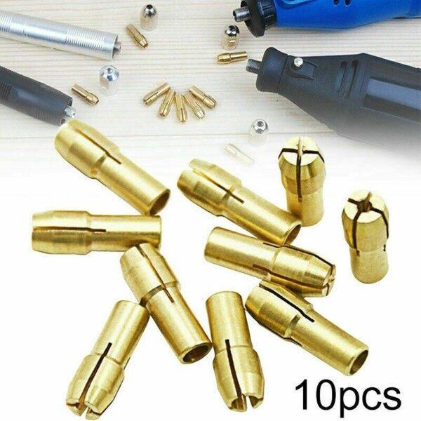 Lot Drill Chuck Collet Bit 0.5mm-3.2mm 10 Piece 10Pcs Accessories Brass