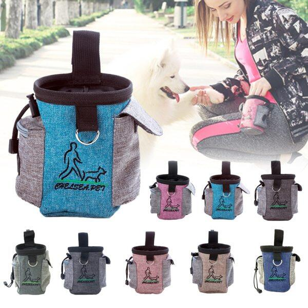Mini Ngoài Trời Di Động Huấn Luyện Chó Snack Túi Vật Nuôi Cung Cấp Khả Năng Chịu Mài Mòn Mạnh Mẽ Công Suất Lớn Puppy Snack Eo Bag