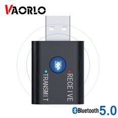 Bộ Thu Phát Âm Thanh 3 Trong 1 VAORLO, Thiết Bị Thu Phát Âm Thanh Mini 5.0 Mm, Giắc Cắm AUX USB, Âm Thanh Nổi, Bộ Chuyển Đổi Không Dây Cho TV, Xe Hơi, Máy Tính Cá Nhân, Loa Bluetooth, BT