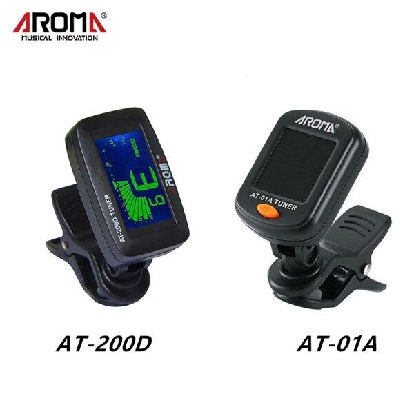 Aroma Guitar Tuner Clip-On Tuning For Chromatic Guitar Violin Ukulele Bass Malaysia