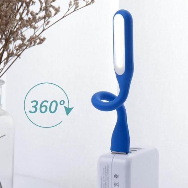 LED Night Lamp 360 Degree Flexible Small Table Lamp Portable USB Mini Desk Lights