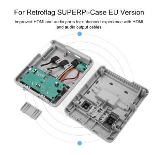 Retroflag Nespi Superpi Capa-j Com , Botão De Đặt Lại Para Raspberry Pi , B + thumbnail
