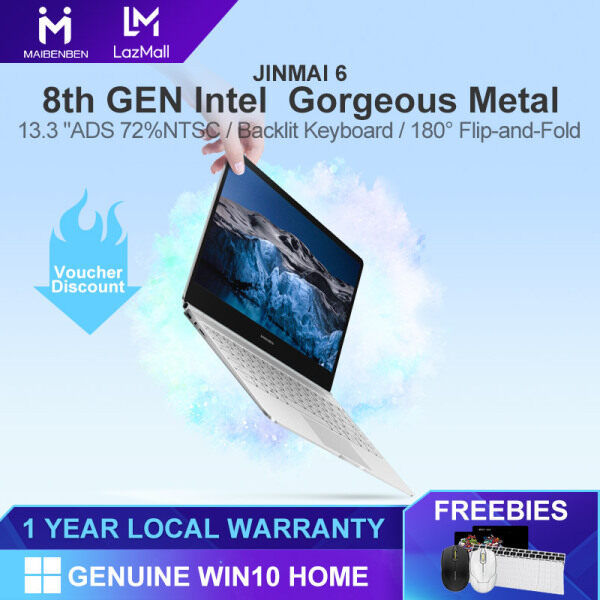 [Local Warranty] MAIBENBEN Laptop JINMAI 6 S480 13.3 inch 14 inch ADS / Intel N4100 / Intel UHD Graphics 600 / DDR4 RAM / SATA SSD / Genuine Windows 10 / Full Funtion Type-C  Free Shipping Malaysia
