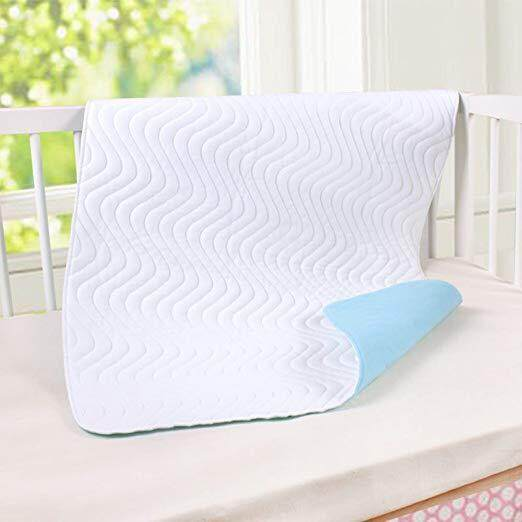 Baby Waterproof Bed Pad Reusable Incontinence Pads Washable Sheets Organic Protective Layers Ultra Absorb Mattress Protector for Infants Kids C
