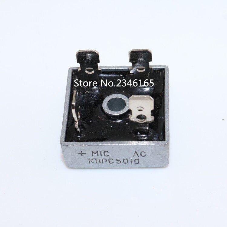 1 Pcs Kbpc5010 1000 V 50A Cầu Đi Ốt Cầu Chỉnh Lưu Và Ic