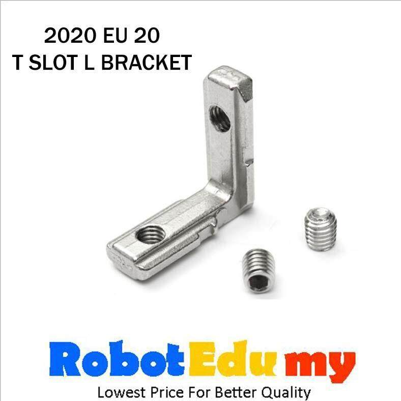 Aluminium Profile 2020 EU 20 T Slot Inner L Bracket Right Angle