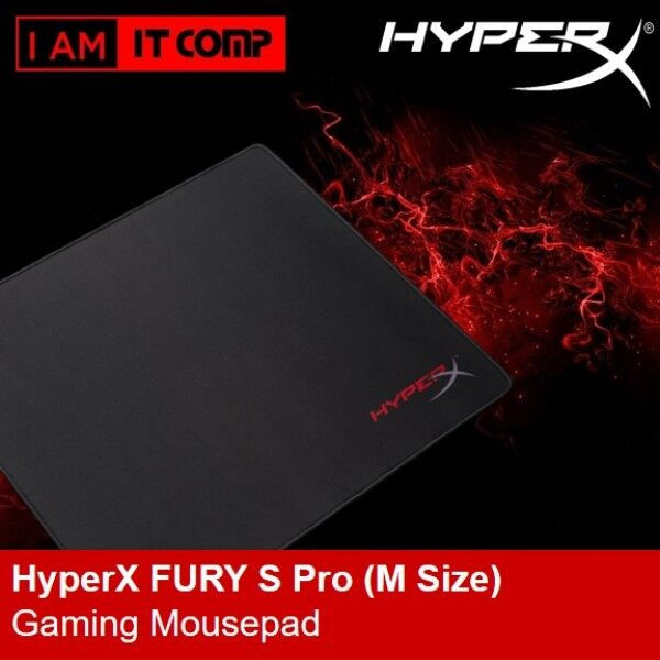 HyperX FURY S Pro Gaming Mouse Pad Cloth Surface Optimized For Precision ( Size S , M , L , & XL ) Malaysia