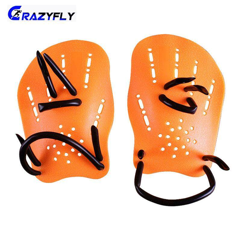 75522533148 Crazyfly Professional Swimming Paddles Training Silicone Hand Gloves Padel  Fins Flippers For Adults Kids Swim Gear