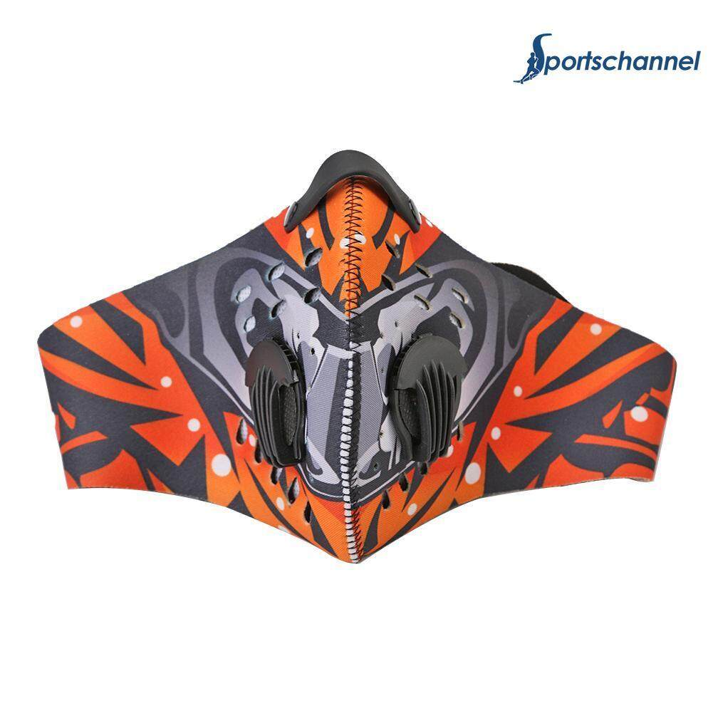 SportsChannel MTB Bike Riding Cycling Outdoor Dustproof Protection Half Face Mask Cover