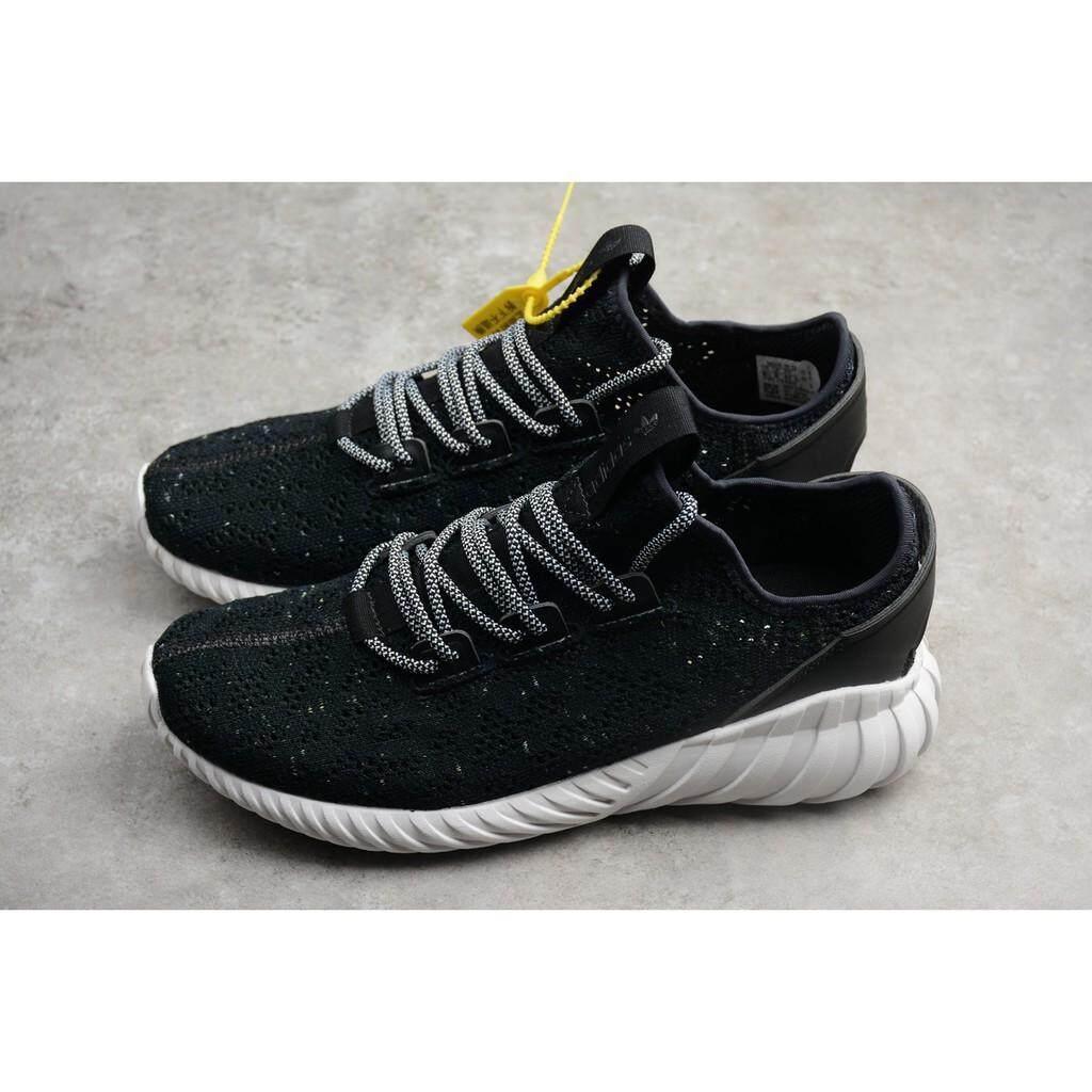fe153b0cc9ee8 Original real picture Adidas Tubular Doom Sock PK black white men sport shoe  size 40-