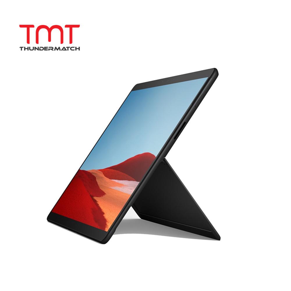 Microsoft Surface Pro X (Black) (LTE-Nano Sim) ( Microsoft SQ1 Qualcomm 7nm 3GHz, 8GB Ram, 128GB SSD, 13  Touch, W10 ) ( MJX-00009 ) Malaysia