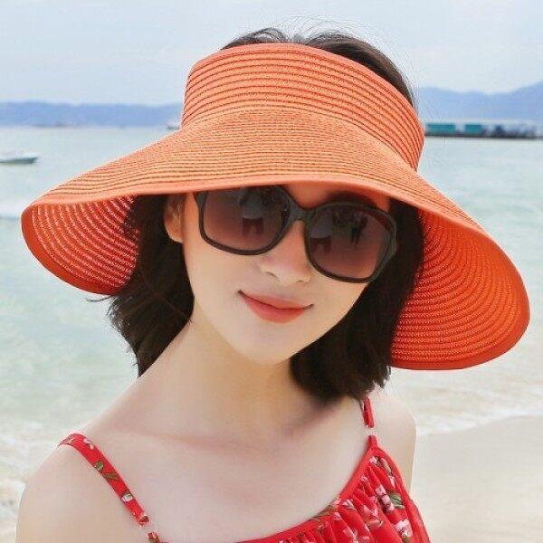 Giá bán Mũ Lưỡi Trai Mùa Hè Cho Nữ Mới Có Thể Gập Lại Sun Hat, Mũ Đi Biển Rộng Vành Mũ Rơm Chapeau Mũ Nữ Chống Tia UV Đi Biển