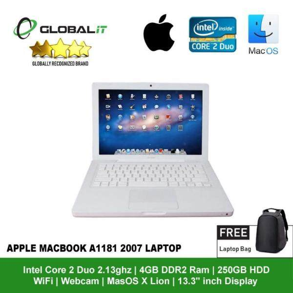 (Refurbished Notebook) Budget Laptop for Student / Office users / 13.3 inch LCD / Intel Core 2 Duo / 4GB DDR2 Ram / 250GB HDD / WiFi / OS X Lion 10.7.5 / Webcam Malaysia