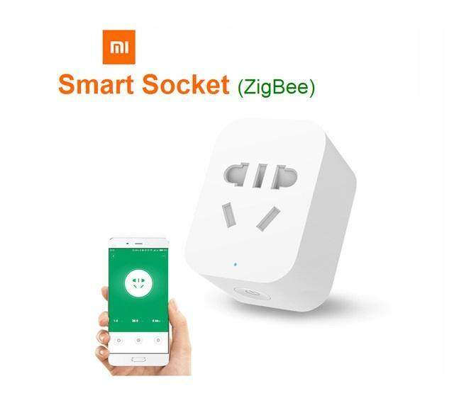 Original Xiaomi Mi Smart WiFi Socket ZigBee Version APP Wireless Remote Control Timer Power Plug Power Detection for Android IOS