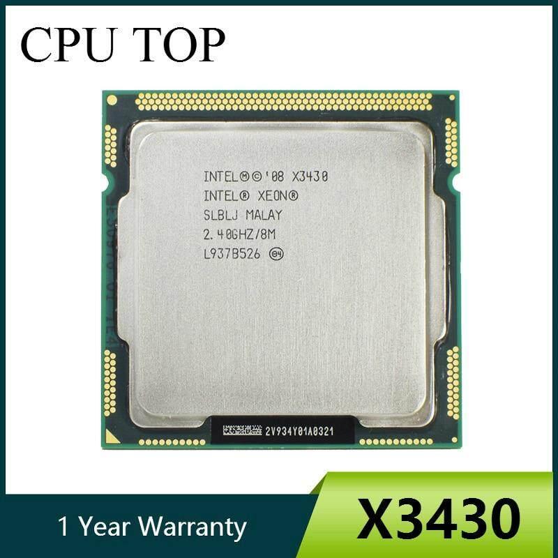 Intel Xeon X3430 Quad Core 2.4GHz LGA 1156 8M Cache 95W Desktop CPU