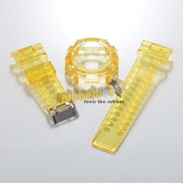[RBB] GA / GD - 100/ 110/ 120 BNB JELLY YELLOW BAND AND BEZEL Malaysia