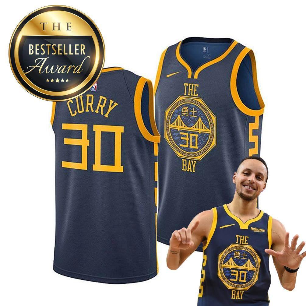 best website a746e 8da07 AAA Grade #30 City Edition 2019 Embroidery VersionBasketball Jersey NBA  Team Jersey Basketball Shirt Sleeveless Shorts Causal Basketball Jersey NBA  ...