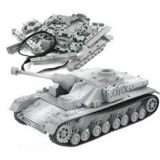 4D Xây Dựng Mô Hình Bộ Dụng Cụ Lắp Ráp Quân Sự Sturmgeschutz IV Xe Tăng Đồ Chơi Giáo Dục Bộ Sưu Tập Cao Cấp Chất Liệu