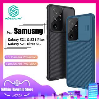 Ốp Lưng Thời Trang Nillkin Chất Liệu PC Có Nắp Trượt Bảo Vệ Máy Ảnh Chống Sốc Bảo Vệ Điện Thoại Dành Cho Samsung Galaxy S21 Ultra 5G S21 Plus 5G S21 5G thumbnail
