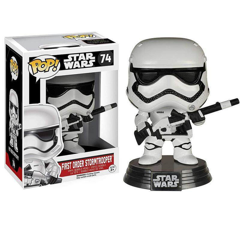 Funko Pop! Star Wars Chewbacca Porg First Order Stormtrooper Vinyl Action Figure