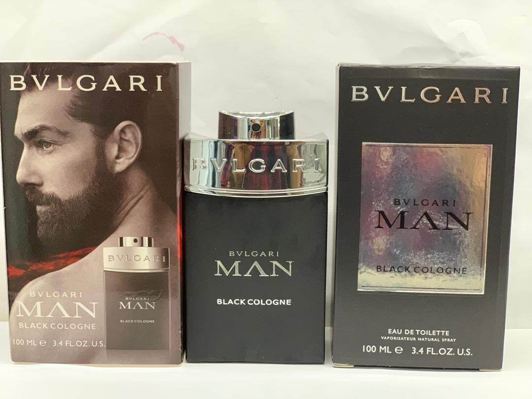 BVLGARI MAN EDT 100 ML (Black Cologne)