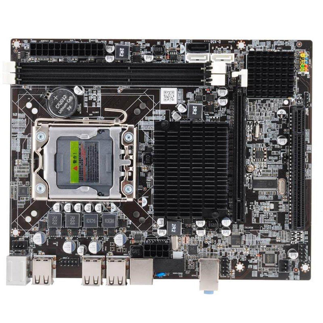 Hot Sale X58 PC Computer Motherboard LGA1366 CPU Interface DDR3 MSATA V1.6 Mainboard