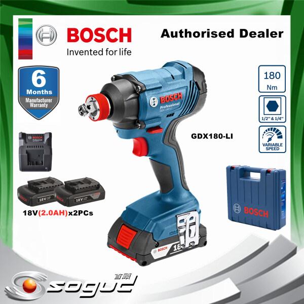 BOSCH GDX180-LI PROFESSIONAL CORDLESS IMPACT DRIVER/WRENCH(GDX 180 LI)