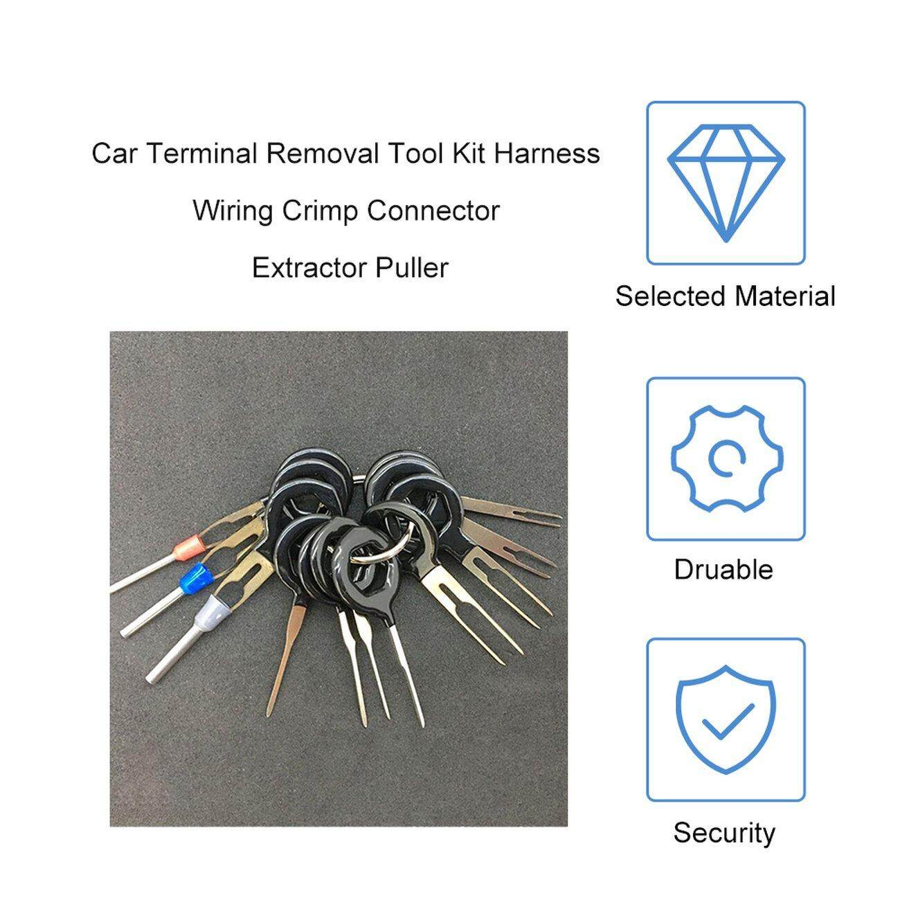 OSMAN Car Terminal Removal Tool Kit Harness Wiring Crimp Connector Extractor Puller