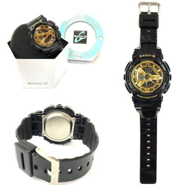 New Sport-CASIO_BABY_G_BA-110_Dual Time Display Resin Band Womens Watch New Fashion & Affordable Price Malaysia