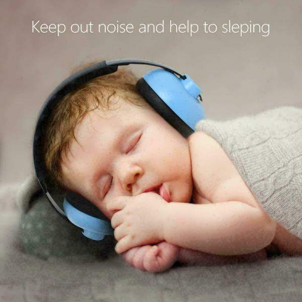 Noise Cancelling Reduction Headphones Earmuffs for Kids Baby Soft Ear Protection