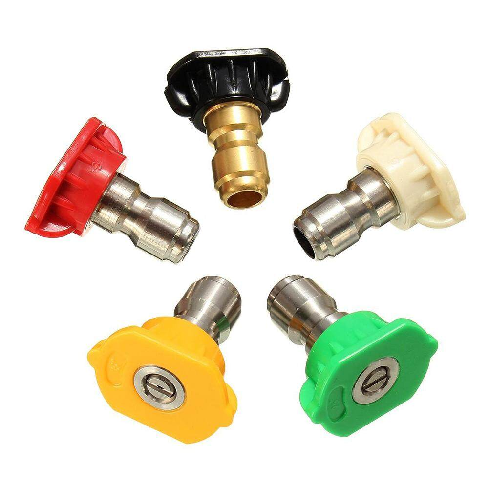 2.5GPM Pressure Washer Rotating Turbo Spray Nozzles Tip,5 color