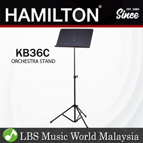 Hamilton KB36C Adjustable Professional Orchestra Music Sheet Stand for Music Book Score (KB36) Malaysia