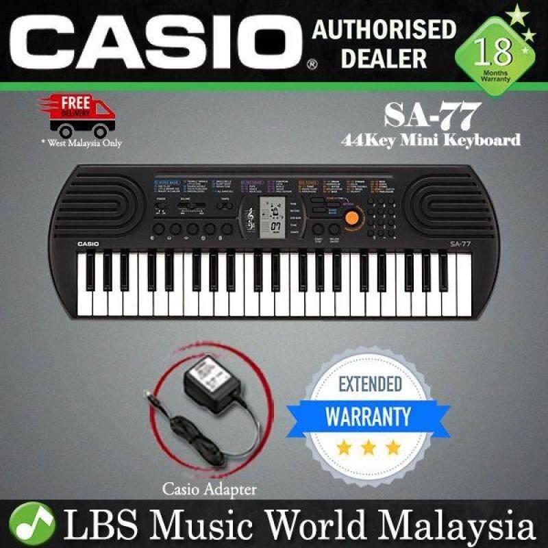 Casio SA-77 44 Key Portable Mini Keyboard Electronic Piano (SA77 SA 77) Malaysia