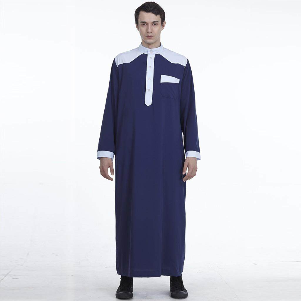 e9630031247ac Mobilone Muslim Islamic Clothing For Men Arabia Plus Size Abaya Dubai  Kaftan Jubba Robe