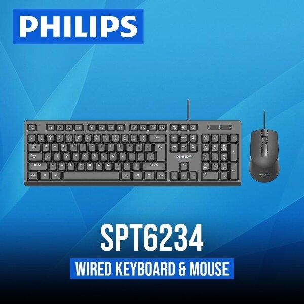 ORIGINAL PHILIPS SPT6234 Wired USB Mouse & Keyboard Combo. LIKE M314 SPK7314 MK235 M220 M330 K120 K230 KEYBOARD Malaysia