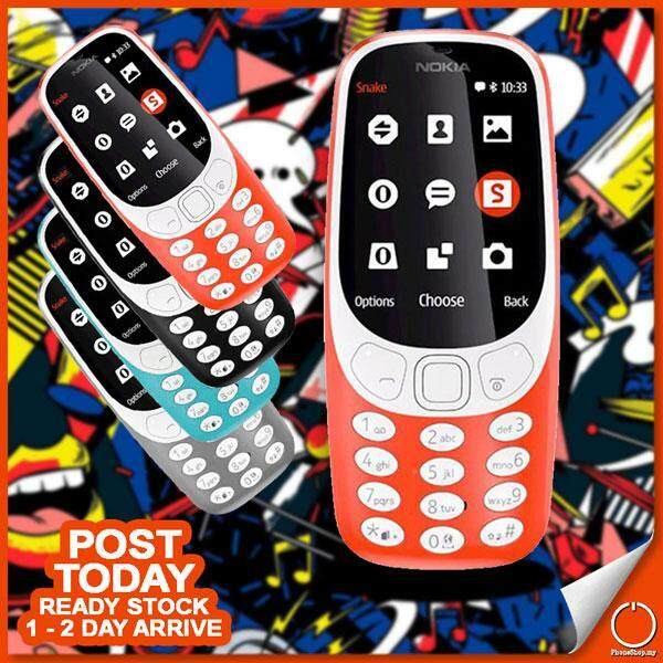 New 2019 Nokia 3310 Dual SIM Memory Card 2MP Camera Radio Tourch Light Oem Set 32 Ratings Malaysia