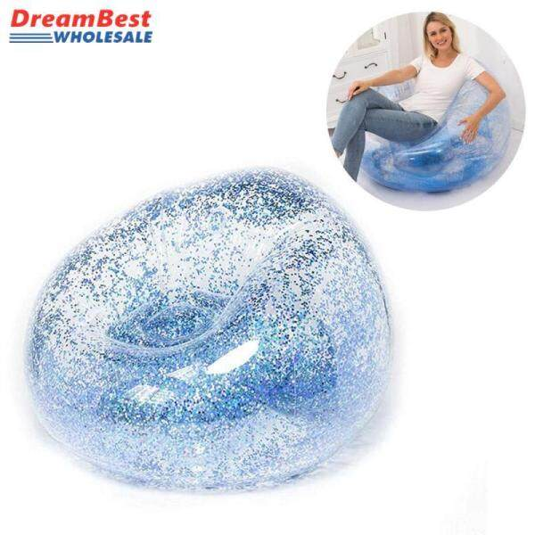 ❤️ Dream Best 4 Styles Glitter Mini Folding Inflatable Sofa-Eco-friendly Comfortable Fast Inflatable Lounger Bag Sofa for Outdoor Camping Air Chair