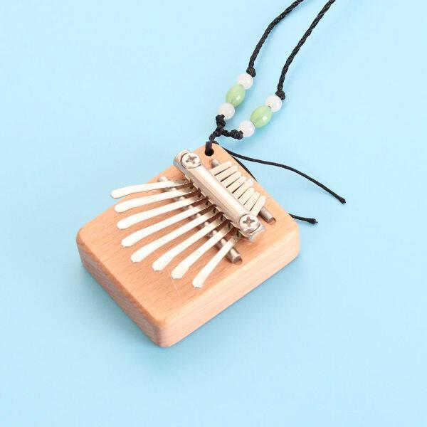 ❆ Nhỏ 8 Âm Thanh Mini Harp Kalimba Đàn Piano Ngón Tay Cái Mini Cầm Tay Carlin Và Jean Quà Tặng Xuyên Biên Giới