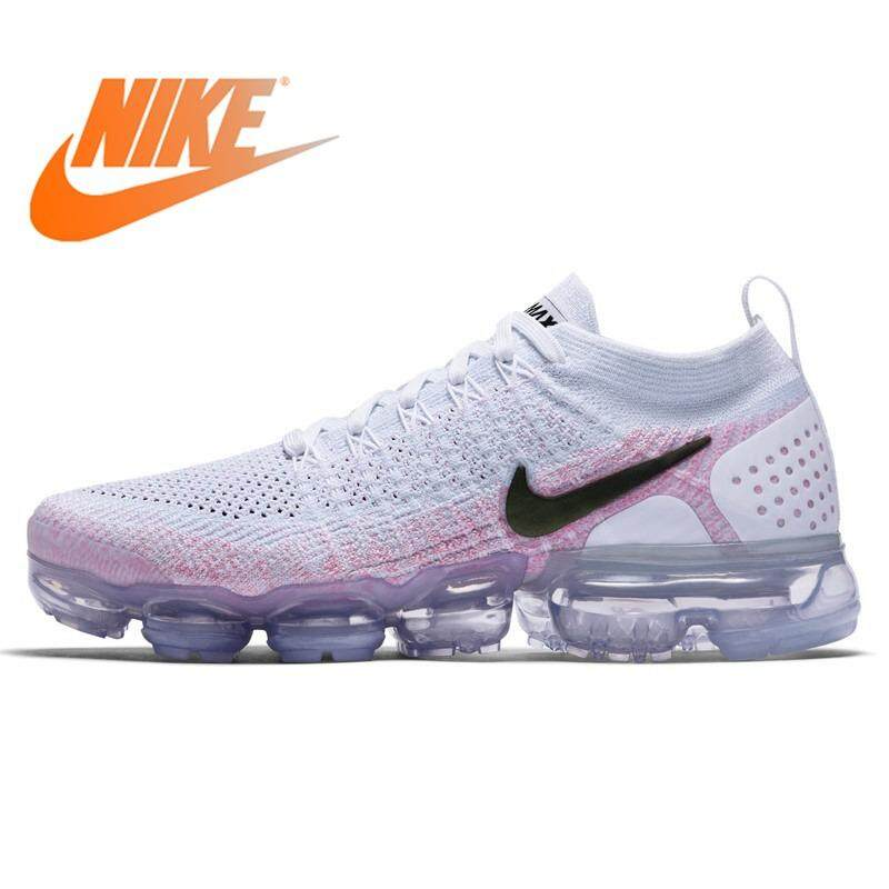best loved fb9c4 17587 Nike Air Max Vapor max Flyknit Women Running Shoes Mesh Sports Breathable  Waterproof Slow Shock Sneakers Women 256314