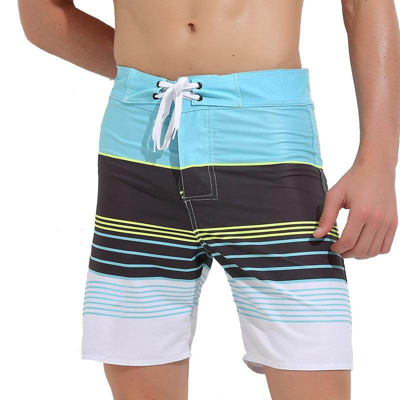 212099a675cf9 Men's Quick-drying Beach Pants Loose Male Hot Spring Pants Swimming Trunks  Beach Sand Short