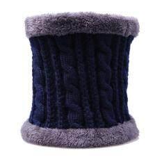 Khăn Choàng Cổ Dệt Kim Nam Nữ Phi Giới Tính, Len Giữ Ấm Cổ Mùa Đông, Mềm, Màu Trơn, Lông Cừu