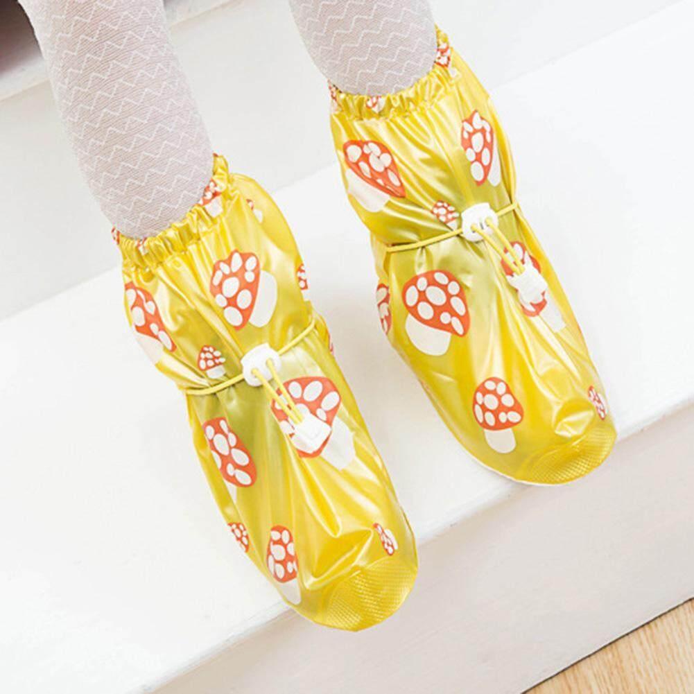 Trẻ em Hoạt Hình Giày Đi Mưa Bao Chống Nước Chống PVC Chống Trượt Trên Giày Giày Bảo Vệ