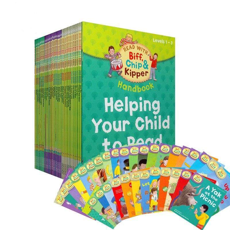 Oxford Reading Tree 1 Set 33 Books 1-3 Level Biff,chip&kipper Hand English Phonics Story Picture Book Children Books Education By Twins Girl.