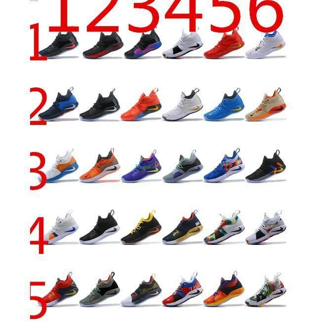 detailing 908fd a3dbb 100% Original Nike PG2 Paul George TS PROTOTYPE EP Basketball Shoes For Men